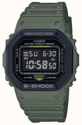Casio G-Shock | Green Rubber Strap | Digital Display DW-5610SU-3ER