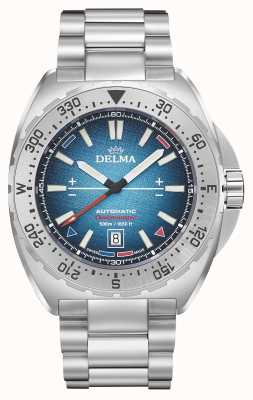 Delma Oceanmaster Antarctica Limited Edition | Stainless Steel 41701.670.6.049