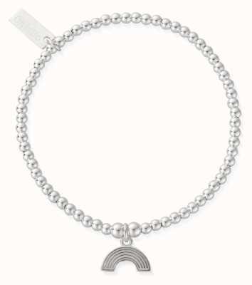 ChloBo Cute Charm Rainbow Bracelet Silver SBCC3069