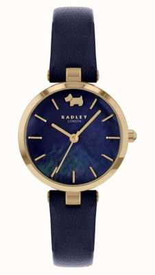 Radley West View | Navy Leather Strap | Navy Dial RY2972