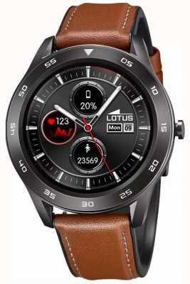 Lotus Men's | Smartime | Brown Leather Strap + Free Strap 50012/1