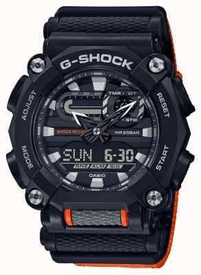 Casio G-SHOCK | LTD Edition | Heavy Duty | World Time | Orange GA-900C-1A4ER