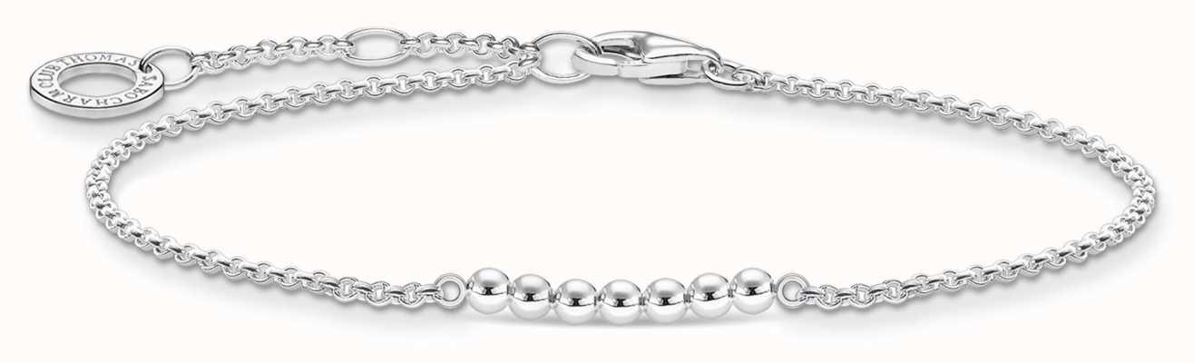 Thomas Sabo Silver Dots Bracelet   925 Sterling Silver   16-19cm A2001-001-21-L19V