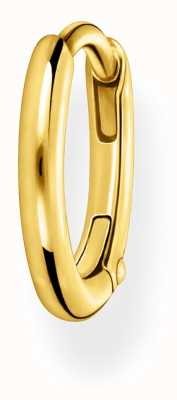 Thomas Sabo 18k Gold Plated Single Hoop Earring 13.5mm CR656-413-39