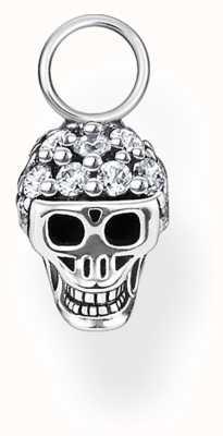 Thomas Sabo Sterling Silver Skull Single Earring Pendant EP012-643-14