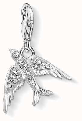 Thomas Sabo Charming   Sterling Silver Bird Charm Pendent 1857-051-14