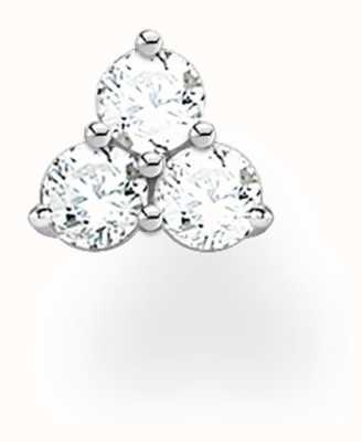 Thomas Sabo Sterling Silver Sparkling Stones Single Stud Earring H2138-051-14