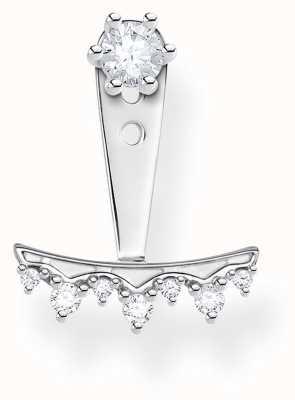 Thomas Sabo Sterling Silver Single Drop Stud Earring H2153-051-14