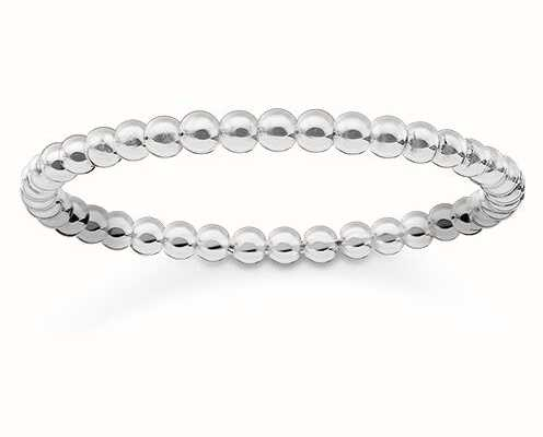 Thomas Sabo Glam And Soul | Stainless Steel Ring |  EU 56 (UK O 1/2 - P) TR2122-001-12-56