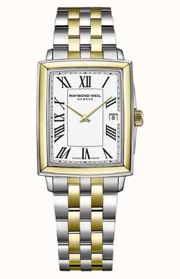 Raymond Weil Women's Toccata | Two-Tone Steel Bracelet | White Dial 5925-STP-00300