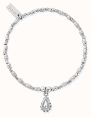 ChloBo Soul Glow Rain Drop Bracelet   Sterling Silver SBCFR3082
