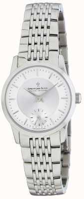 Dreyfuss Womens Silver Stainless Steel Bracelet Watch DLB00001/02