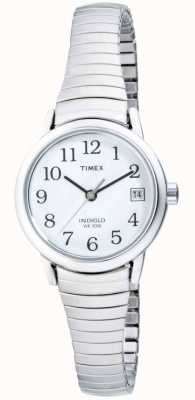 Timex Womens Stainless Steel Expandable  Watch T2H371