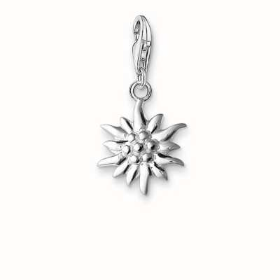 Thomas Sabo Edelweiss Charm 925 Sterling Silver 0163-001-12