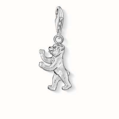 Thomas Sabo Berlin Bear Charm 925 Sterling Silver 0268-001-12