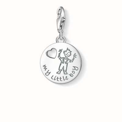 Thomas Sabo My Little Boy Charm 925 Sterling Silver 1057-001-12