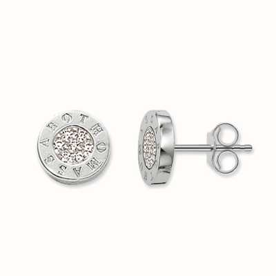 Thomas Sabo Earstuds White 925 Sterling Silver/ Zirconia H1547-051-14