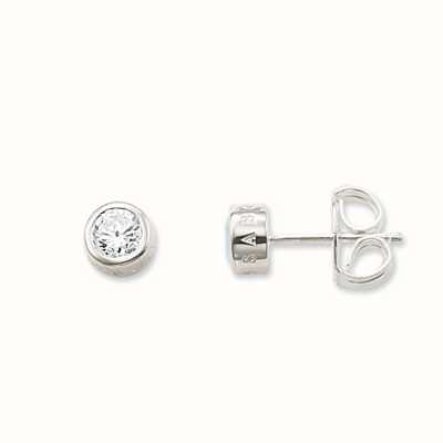 Thomas Sabo Earstuds White 925 Sterling Silver/ Zirconia H1670-051-14