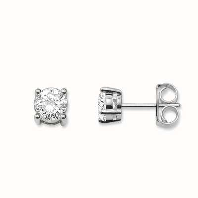 Thomas Sabo Earstuds White 925 Sterling Silver/ Zirconia H1739-051-14